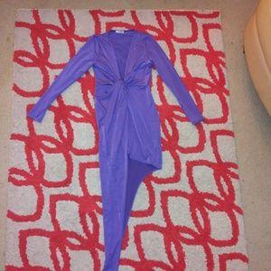 EUC Fashion Nova asymmetrical mini dress